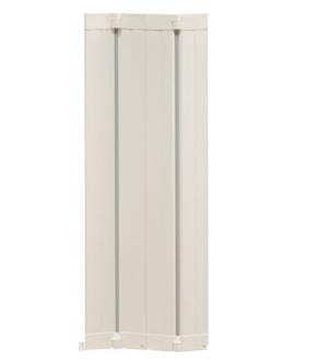 Förlängningspanel vit 24 cm