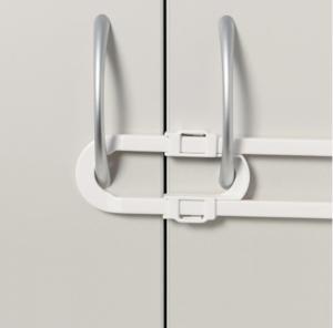 Dubbeldörrsregel för t ex garderobsdörrar.